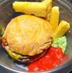 "Hamburger and ""French fries"""